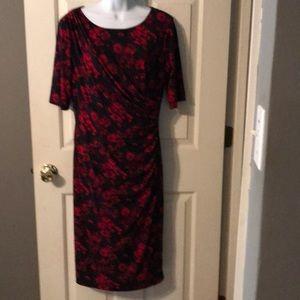 EUC Connected Apparel Floral Dress Sz 12
